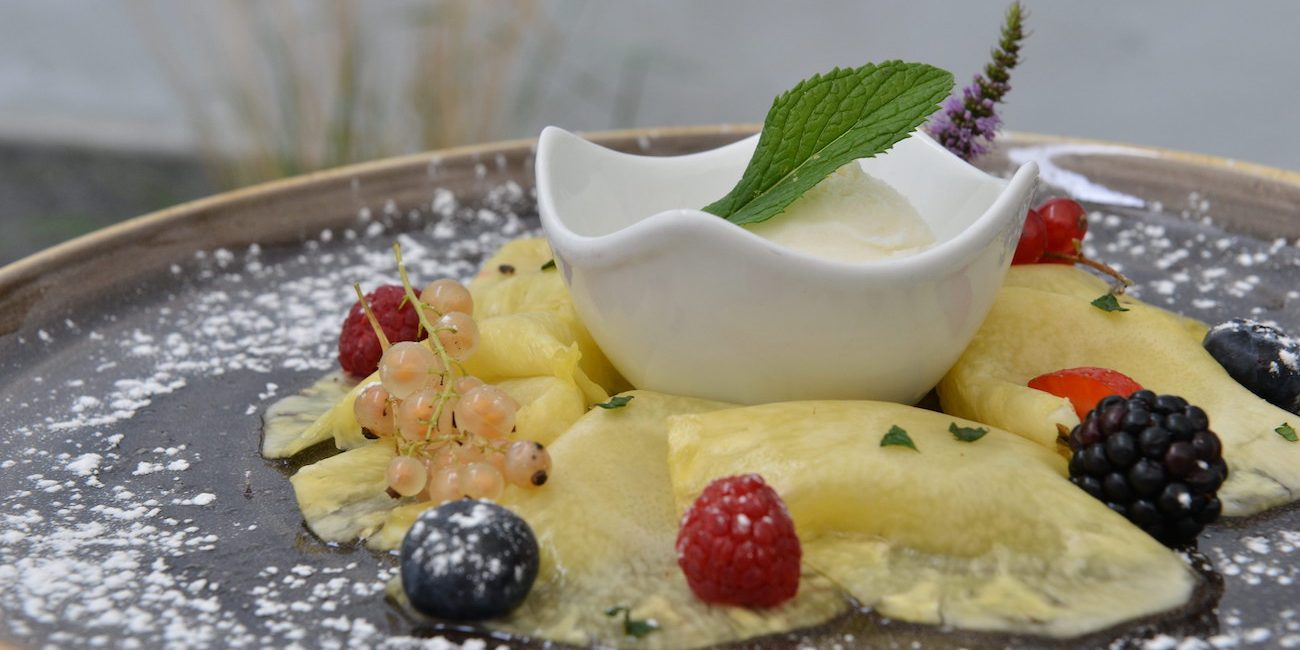 Stefenelli Desk Dessert carpaccio di Ananas